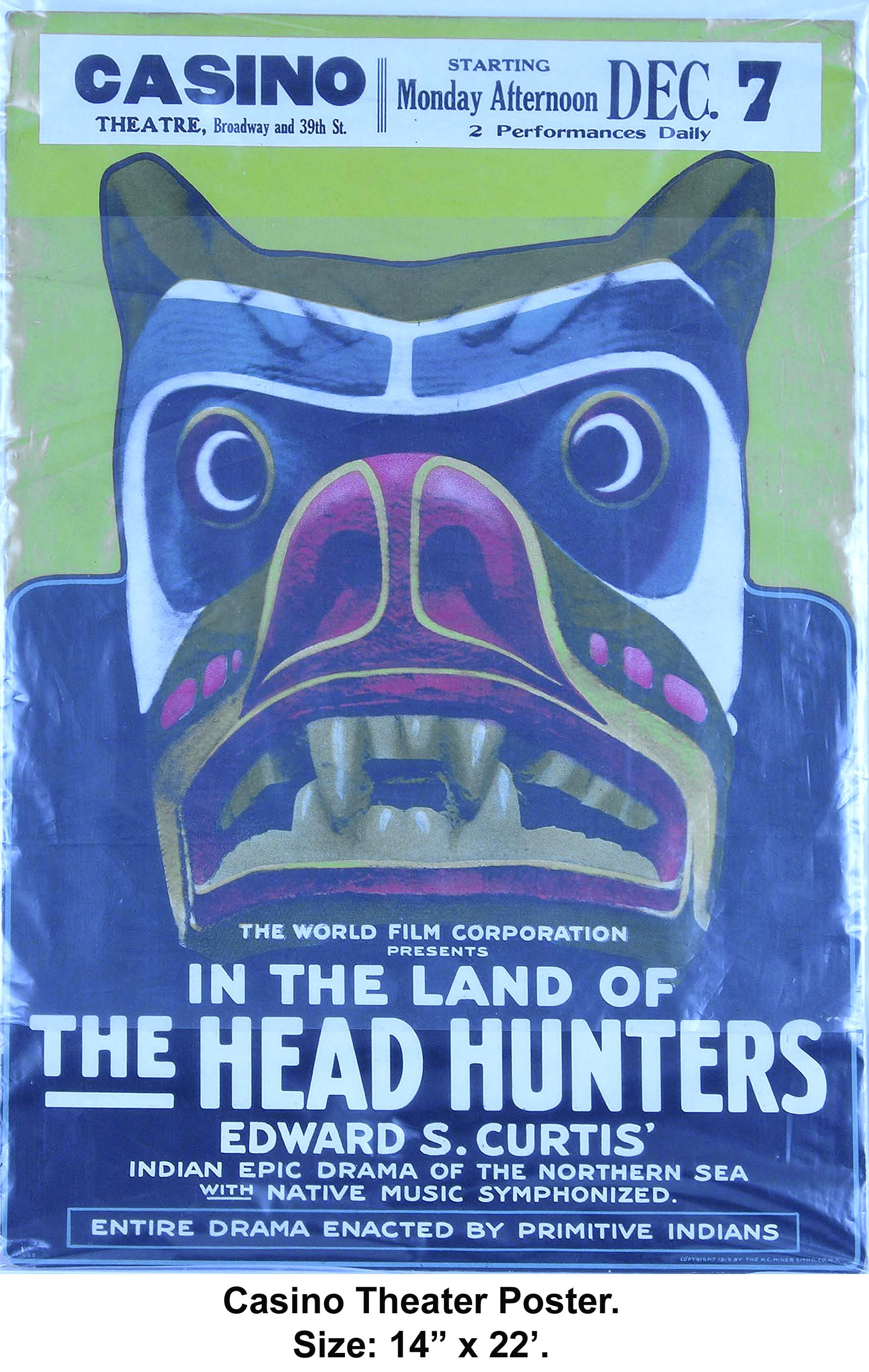 A1.8 Head Hunters Bear Poster