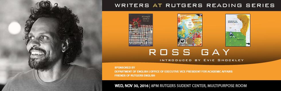 Certificate in creative writing rutgers