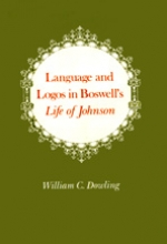 Language and Logos in Boswell's Life of Johnson
