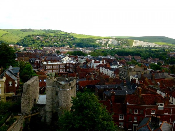 Lewes Town and Castle