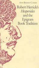 Robert Herrick's Hesperides and the Epigram Book Tradition